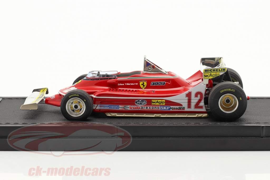 Gilles Villeneuve Ferrari 312T4 #12 Monaco GP formula 1 1979 1:43 GP Replicas