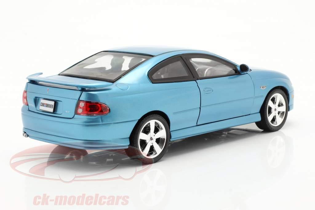 Pontiac GTO Coupe år 2004 blå metallic 1:18 autoworld