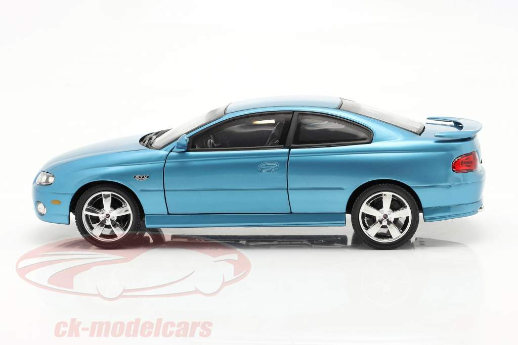 Pontiac GTO Coupe Baujahr 2004 blau metallic 1:18 autoworld