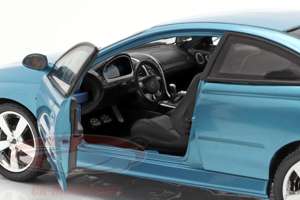Pontiac GTO Coupe année 2004 bleu métallique 1:18 autoworld