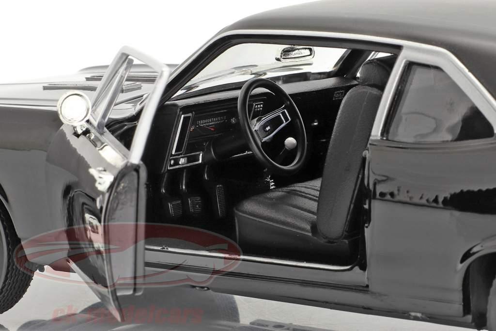 Chevrolet Yenko Nova Anno di costruzione 1969 nero 1:18 AutoWorld