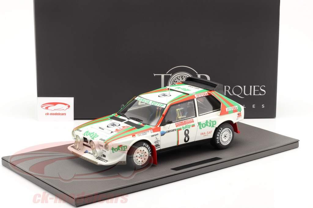 Lancia Delta S4 #8 2e Rallye SanRemo 1986 Cerrato, Cerri 1:12 TopMarques