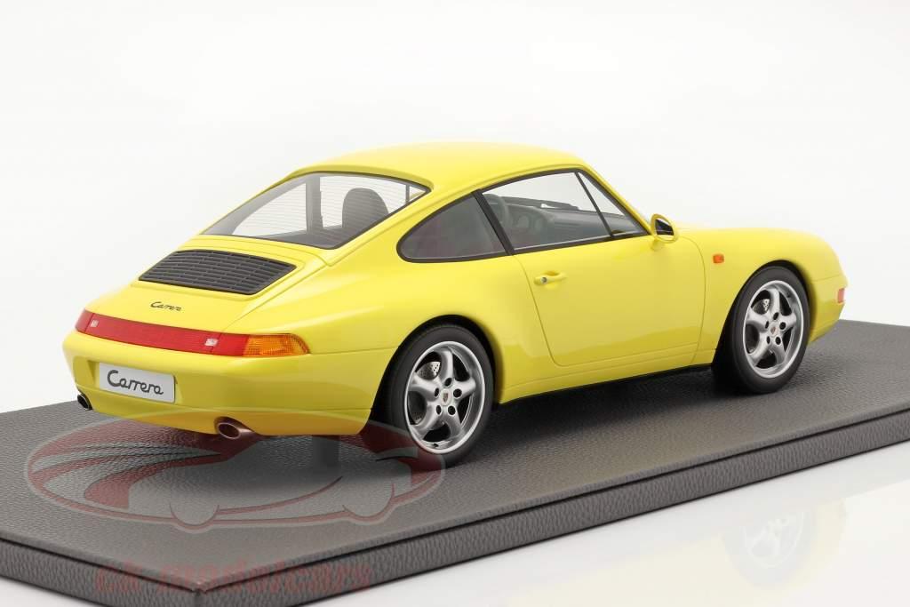 Porsche 911 (993) Carrera 2 Anno di costruzione 1994 giallo 1:12 TopMarques