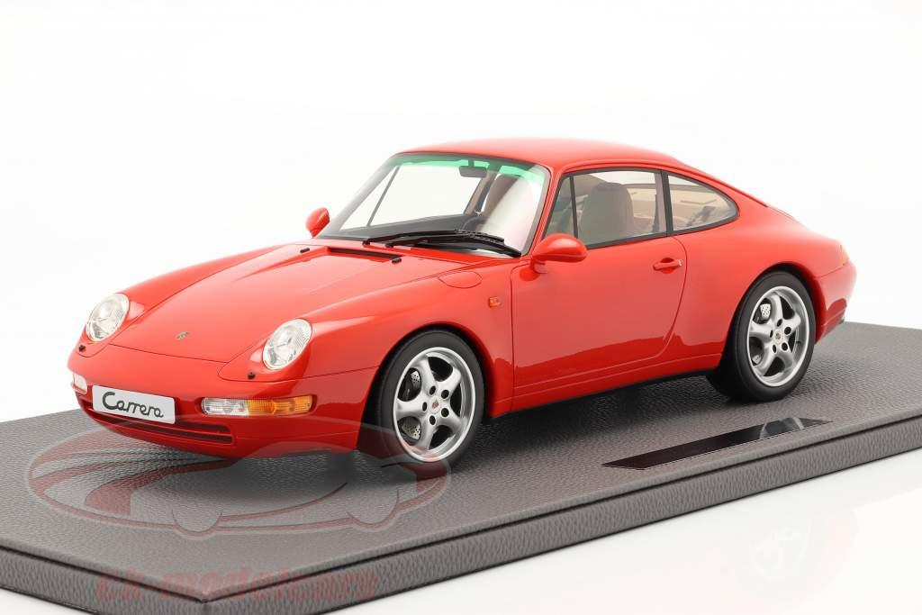 Porsche 911 (993) Carrera 2 Année de construction 1994 rouge 1:12 TopMarques