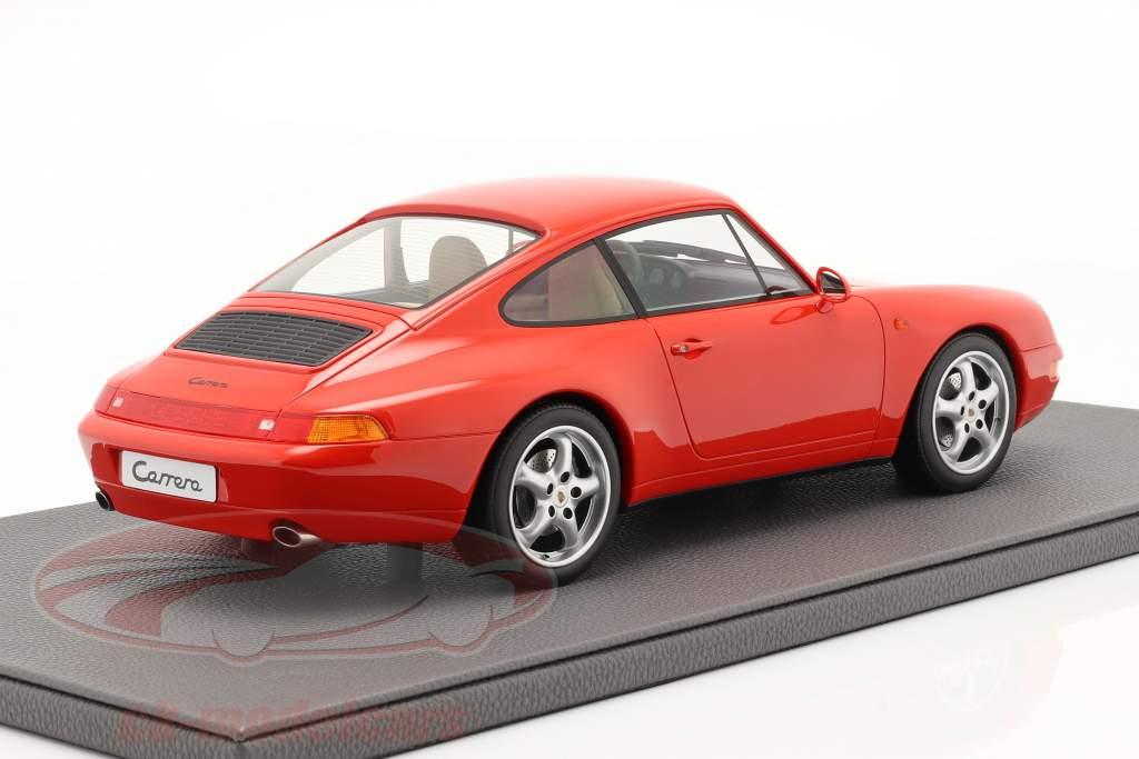 Porsche 911 (993) Carrera 2 Anno di costruzione 1994 rosso 1:12 TopMarques