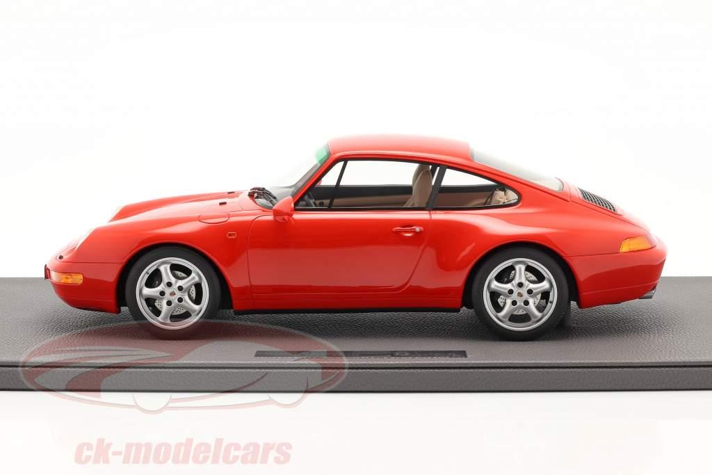 Porsche 911 (993) Carrera 2 Bouwjaar 1994 rood 1:12 TopMarques