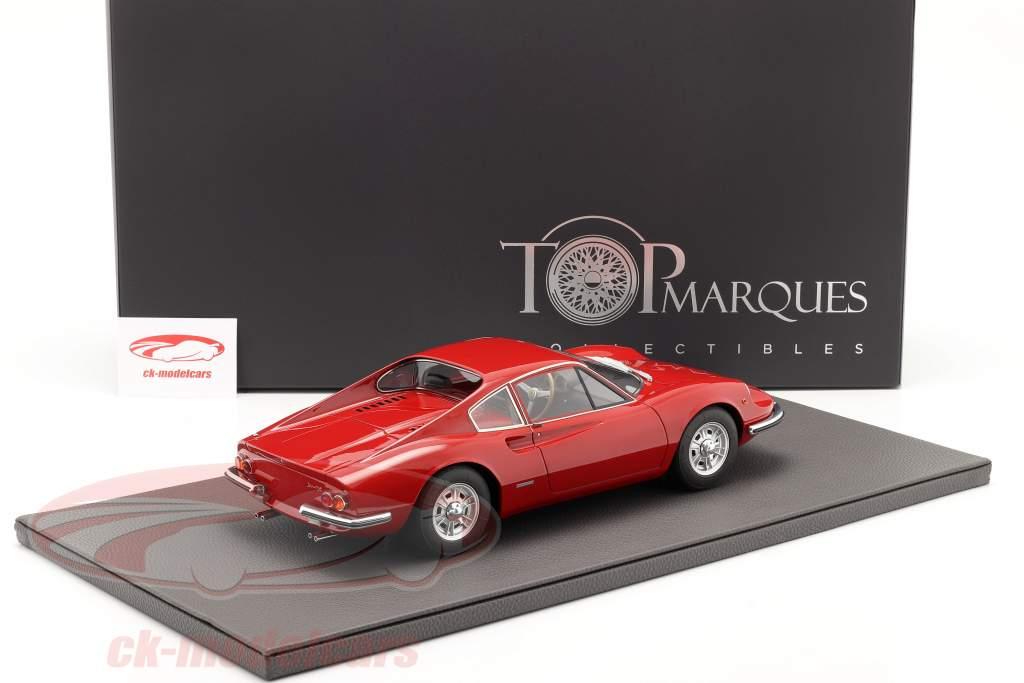 Ferrari Dino 206 GT Baujahr 1969 rot 1:12 TopMarques