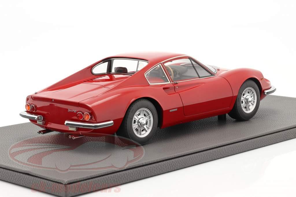 Ferrari Dino 206 GT Année de construction 1969 rouge 1:12 TopMarques