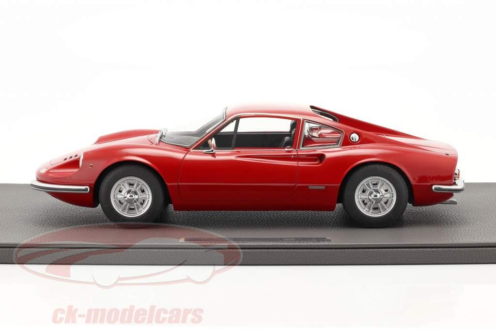 Ferrari Dino 206 GT Anno di costruzione 1969 rosso 1:12 TopMarques
