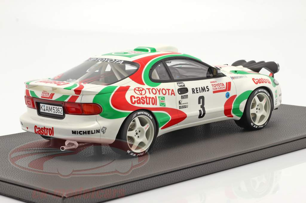 Toyota Celica Turbo 4WD (ST185) #3 vinder Rallye Monte Carlo 1993 1:12 TopMarques