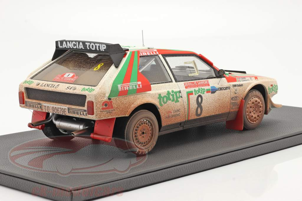 Lancia Delta S4 #8 2do Rallye SanRemo 1986 Dirty Version 1:12 TopMarques