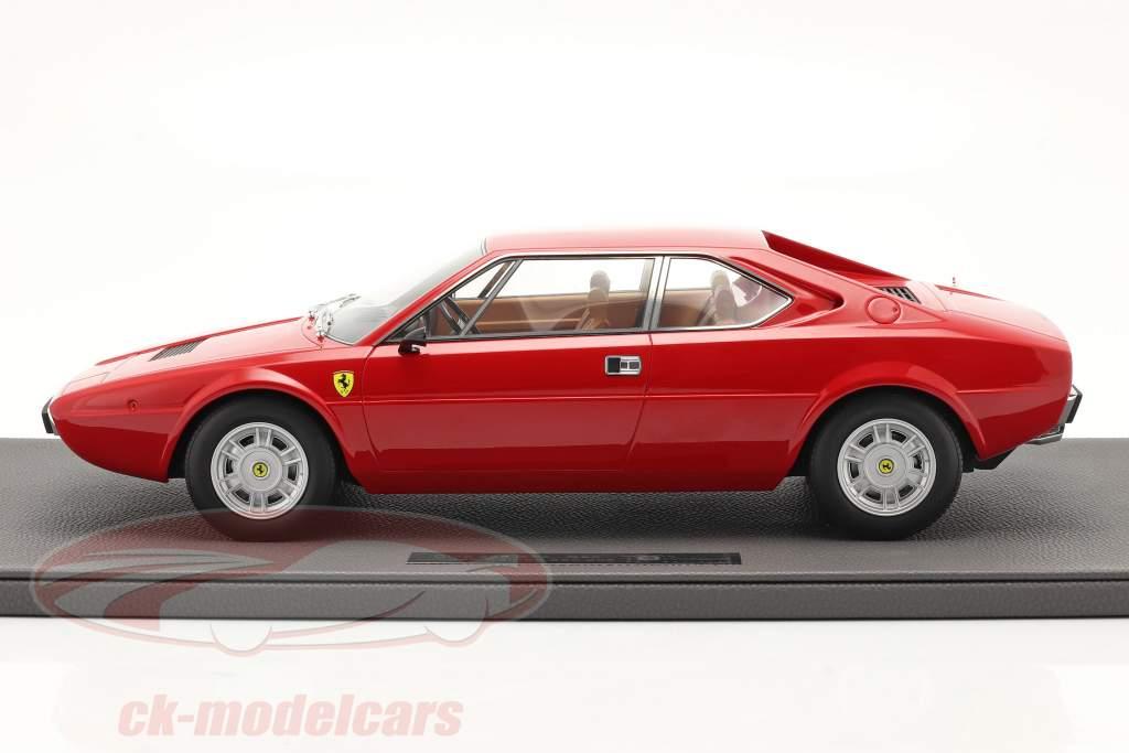 Ferrari Dino 308 GT4 Coupe Baujahr 1973 rot 1:12 TopMarques
