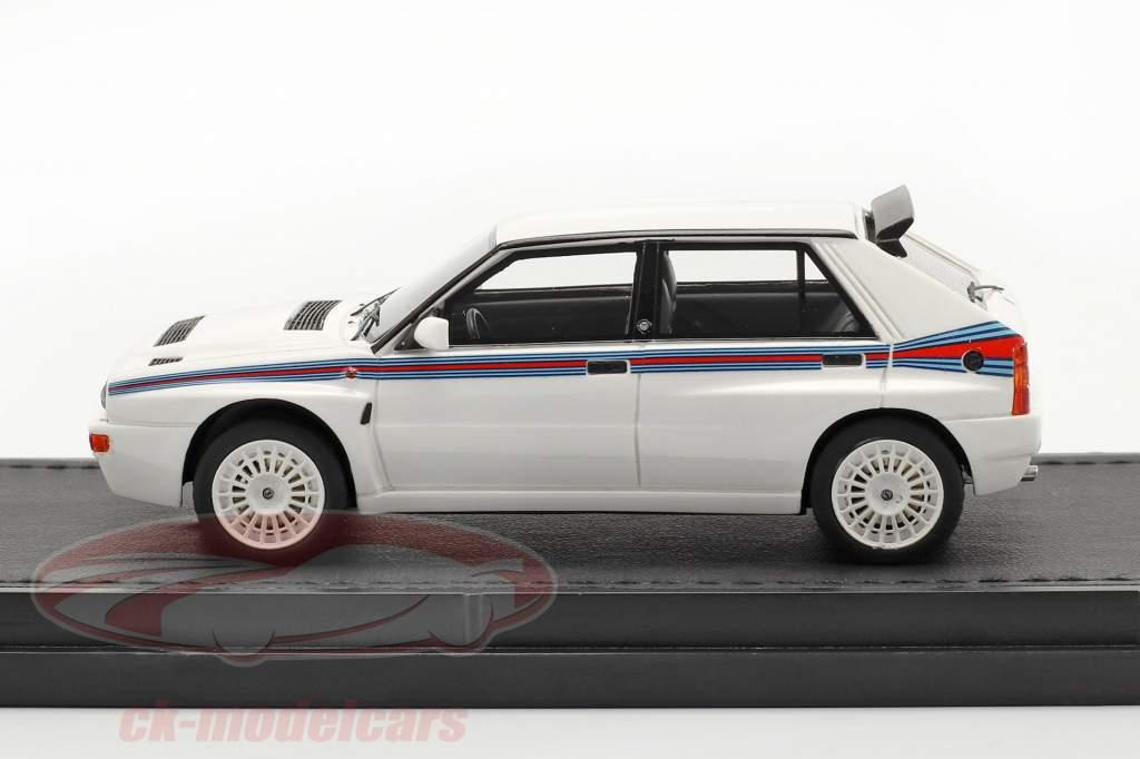 Lancia Delta HF Integrale Evo 5 Martini Byggeår 1992 hvid 1:43 TopMarques