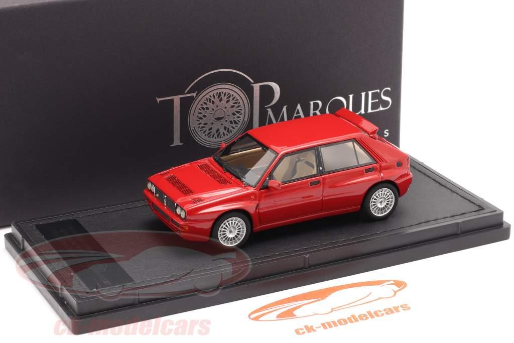 Lancia Delta HF Integrale Evo 2 year 1992 red 1:43 TopMarques