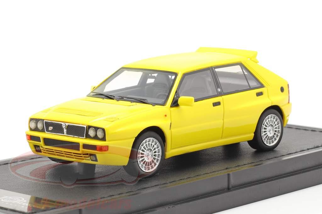 Lancia Delta HF Integrale Evo 2 year 1992 yellow 1:43 TopMarques