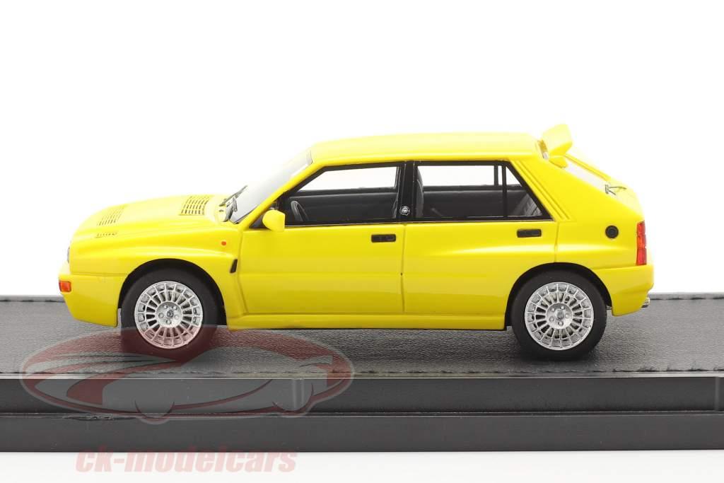 Lancia Delta HF Integrale Evo 2 Baujahr 1992 gelb 1:43 TopMarques