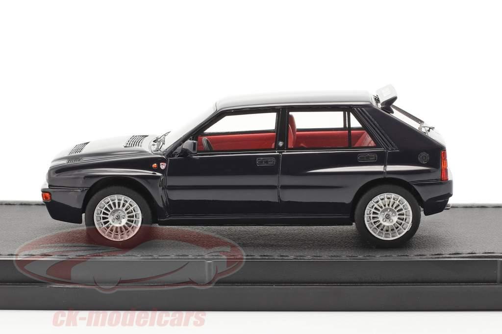 Lancia Delta HF Integrale Evo 2 Club Italia 1992 donkerblauw 1:43 TopMarques