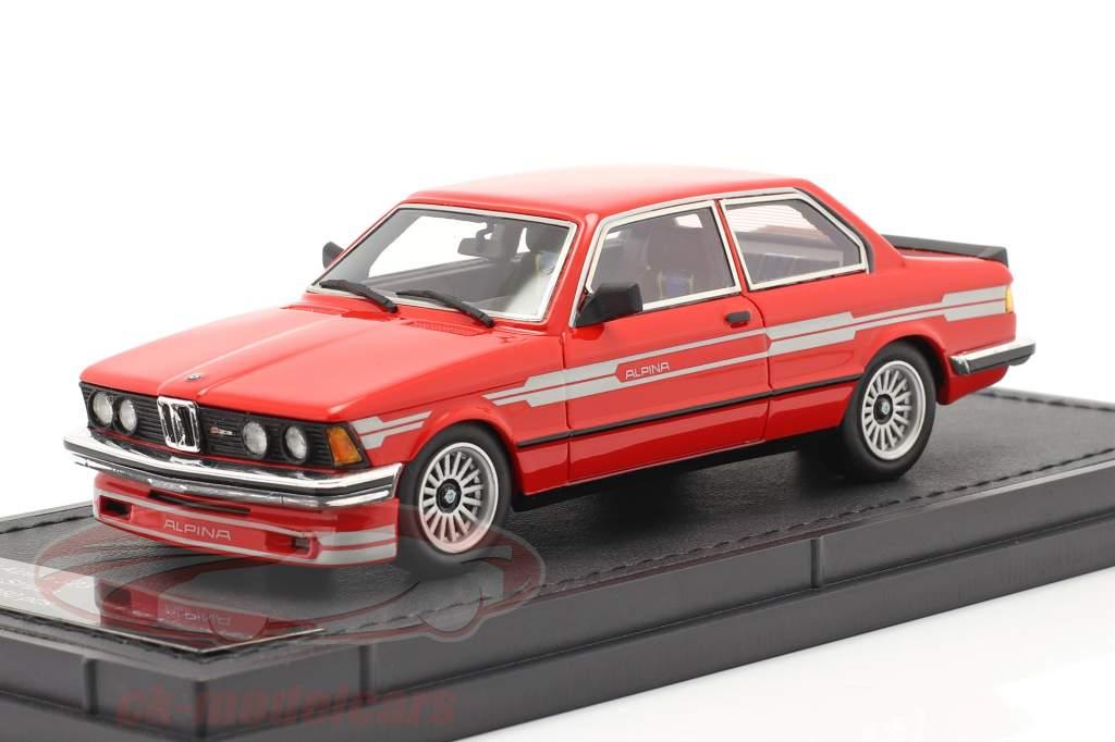 BMW 3 serie 323 C1 2.3 Alpina Byggeår 1983 rød 1:43 TopMarques
