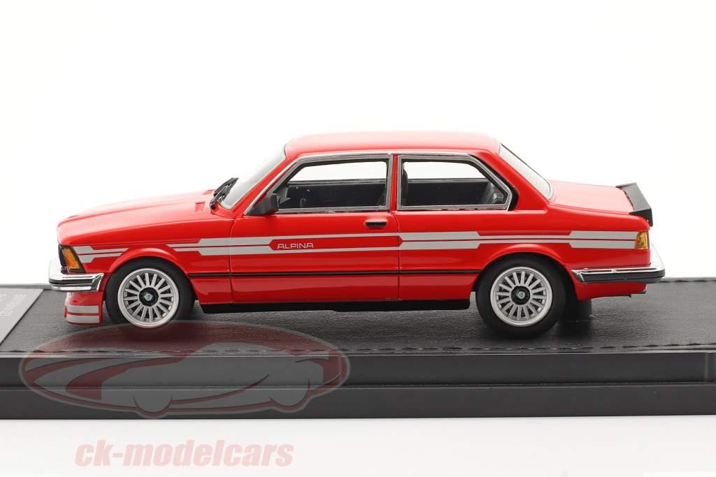 BMW 3 serie 323 C1 2.3 Alpina Bouwjaar 1983 rood 1:43 TopMarques