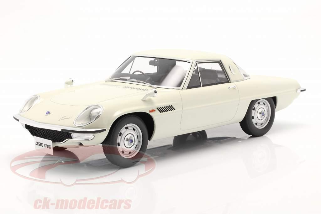 Mazda Cosmo Sport Año de construcción 1967 blanco 1:12 Kyosho