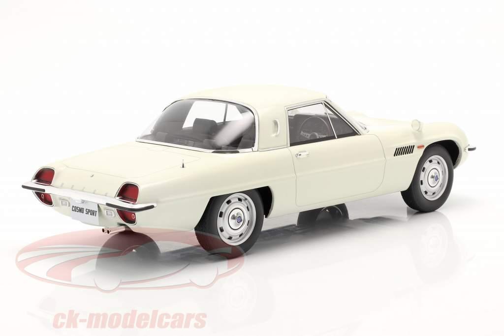 Mazda Cosmo Sport year 1967 white 1:12 Kyosho
