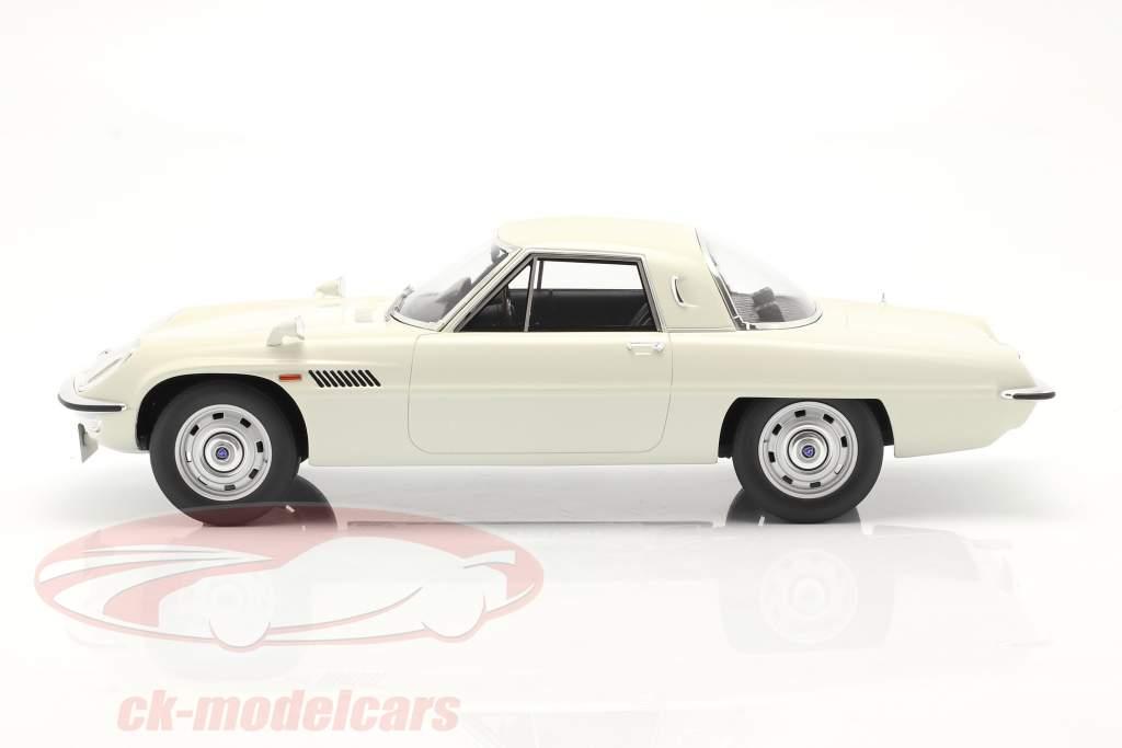 Mazda Cosmo Sport Ano de construção 1967 Branco 1:12 Kyosho