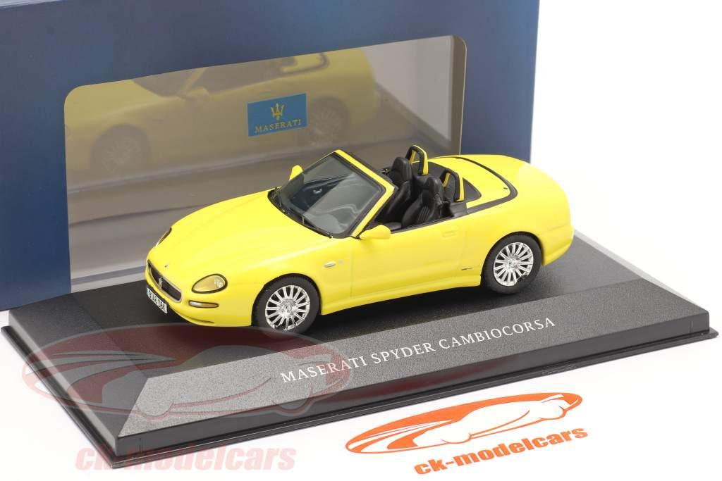 Maserati Spyder Cambiocorsa amarillo 1:43 Ixo