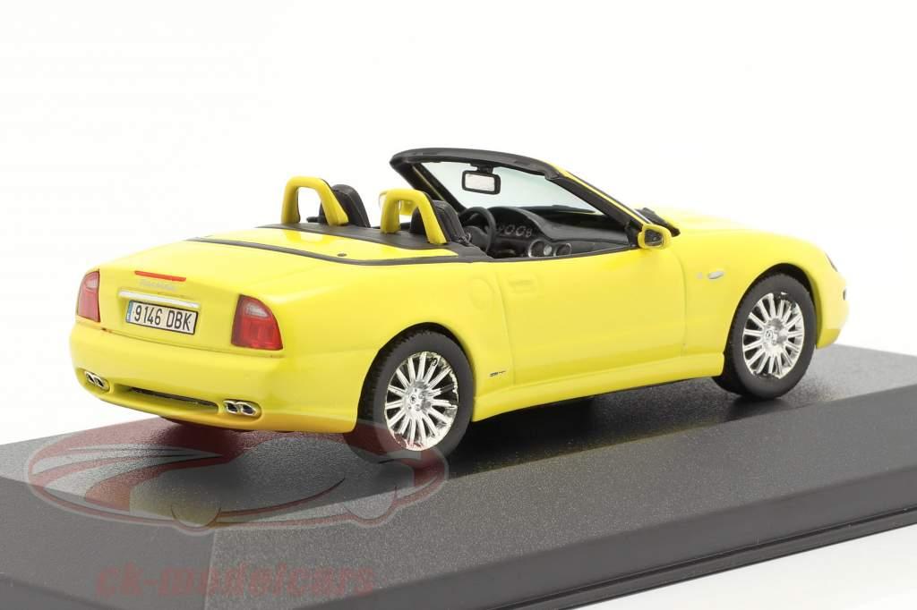 Maserati Spyder Cambiocorsa amarelo 1:43 Ixo