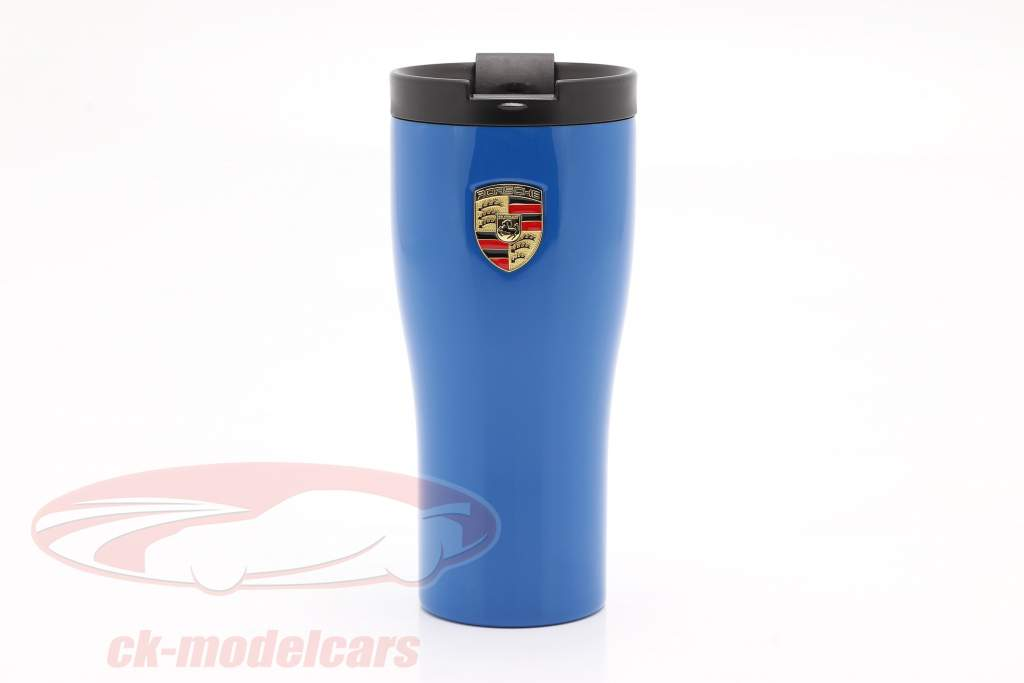 Porsche Mug isotherme bleu