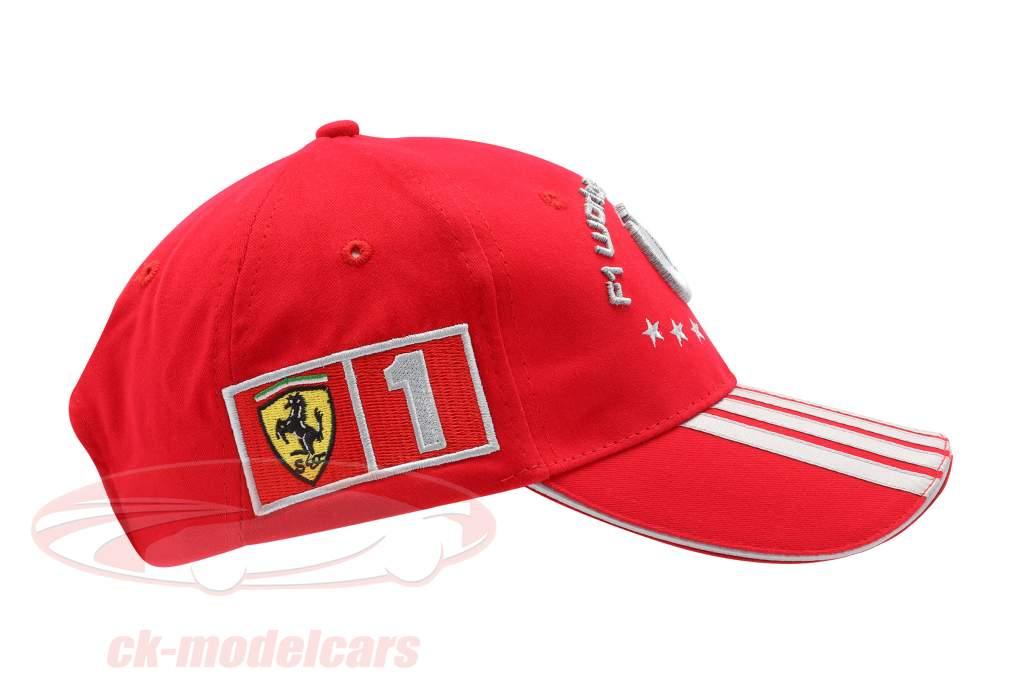 M. Schumacher Ferrari Fórmula 1 2004 Cap Campeón del Mundo