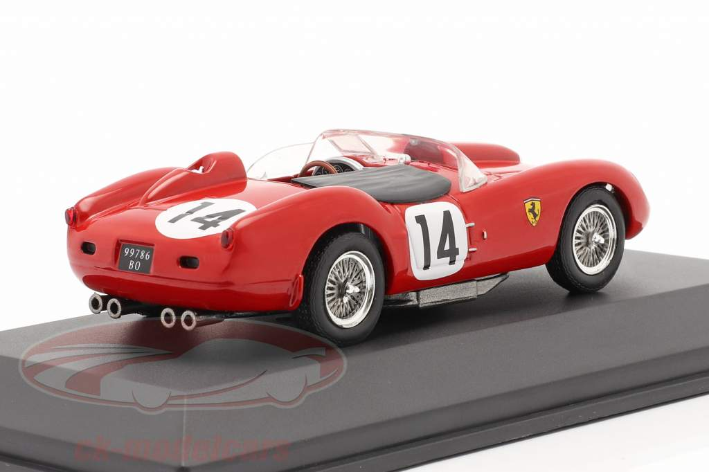 Ferrari 250 Testa Rossa #14 vincitore 24h LeMans 1958 Gendebien, Hill 1:43 Ixo