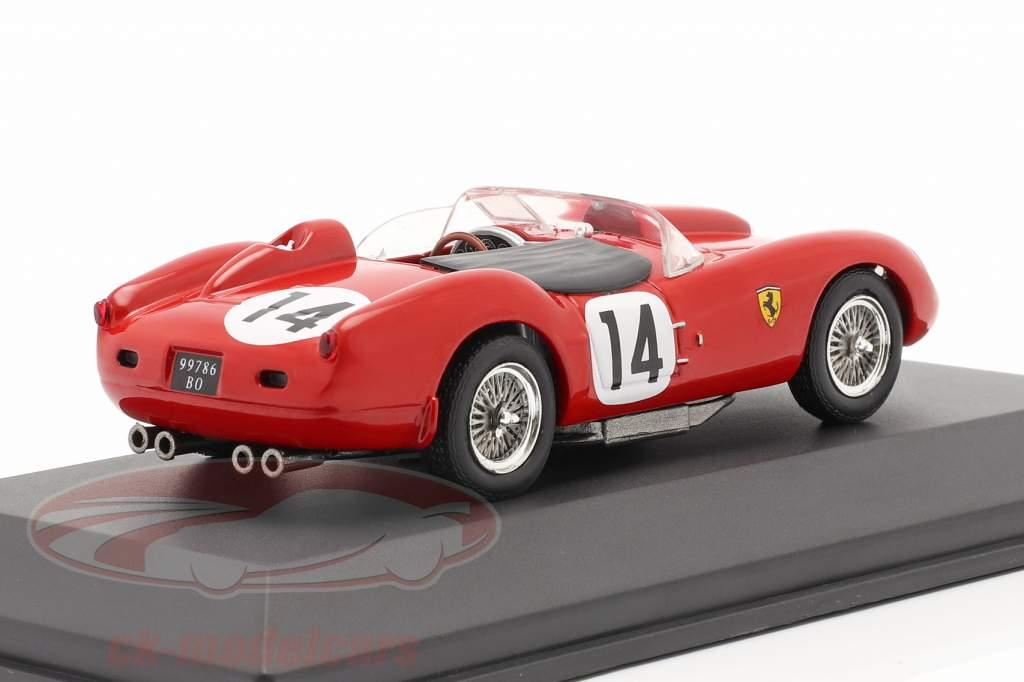 Ferrari 250 Testa Rossa #14 Vinder 24h LeMans 1958 Gendebien, Hill 1:43 Ixo