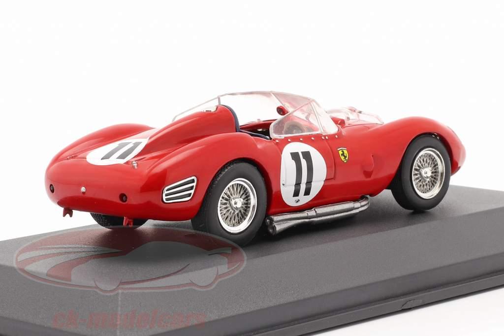 Ferrari TR60 #11 vencedor 24h LeMans 1960 Gendebien, Frere 1:43 Ixo