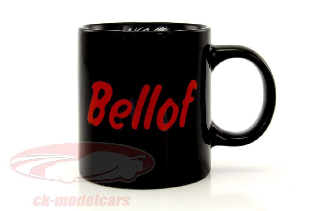 Stefan Bellof taza de café casco negro