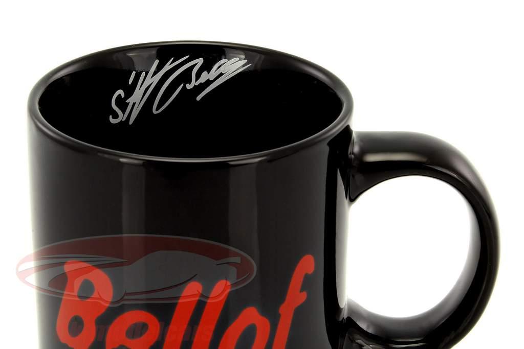Stefan Bellof koffiemok helm zwart
