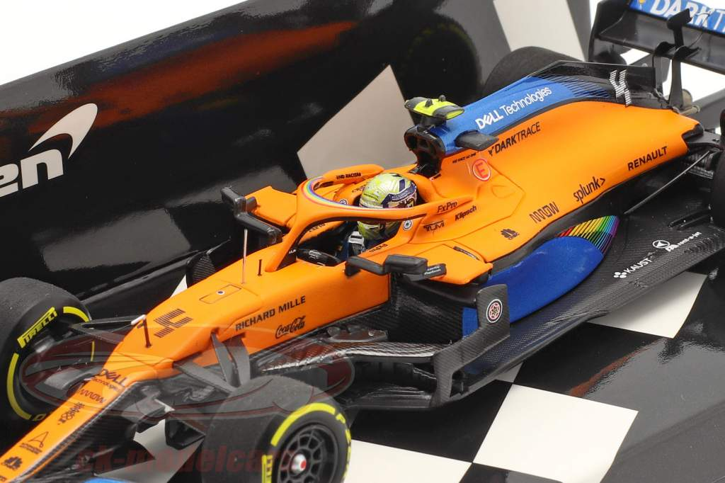 L. Norris McLaren MCL35 #4 3rd Österreich GP Formel 1 2020 1:43 Minichamps