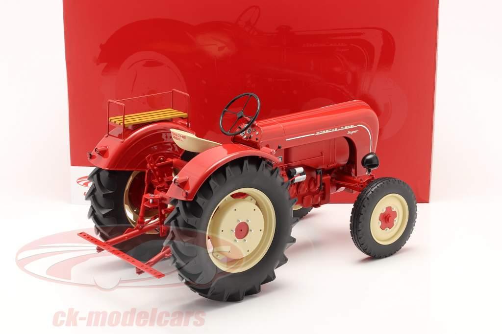 Porsche Super trattore Anno di costruzione 1958 rosso 1:8 Minichamps