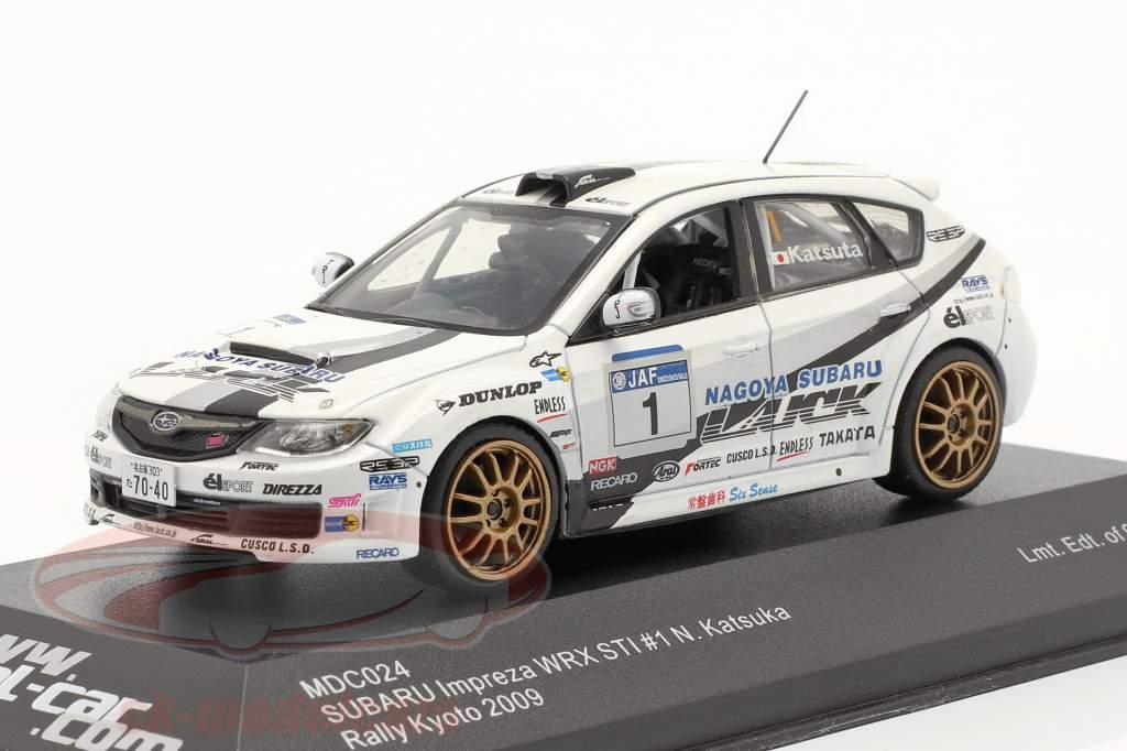 Subaru Impreza WRX STI #1 se rallier Kyoto 2009 Katsuka 1:43 model-car