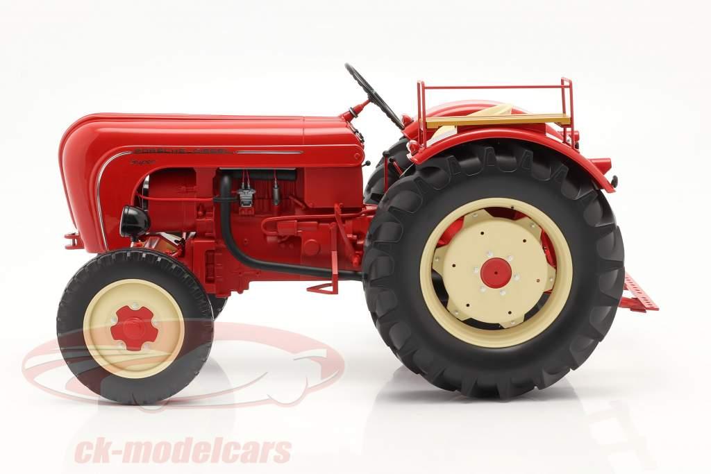 Porsche Super 拖拉机 建设年份 1958 红色的 1:8 Minichamps