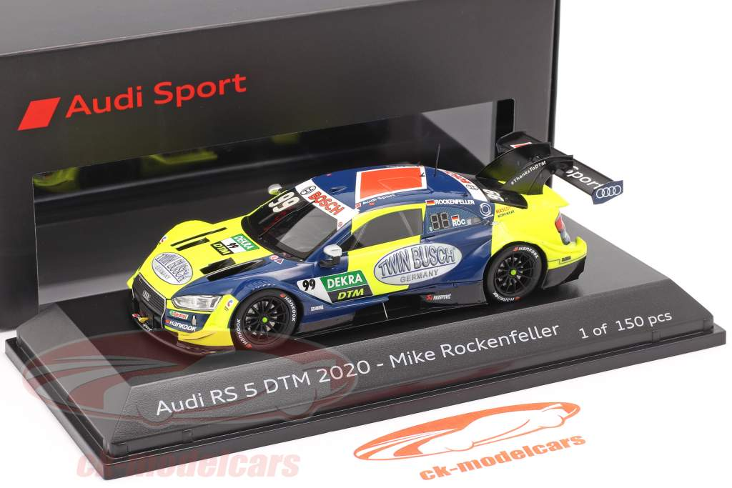 Audi RS 5 Turbo DTM #99 DTM 2020 Mike Rockenfeller 1:43 Spark