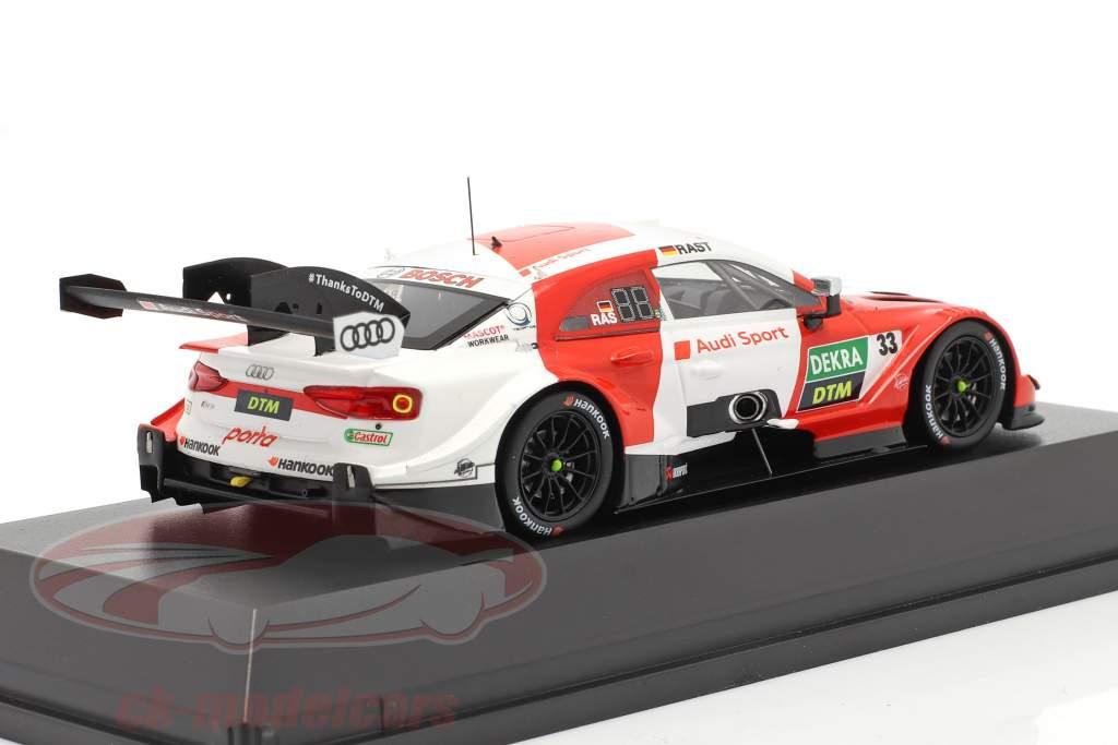 Audi RS 5 Turbo DTM #33 DTM Champion 2020 Rene Rast 1:43 Spark