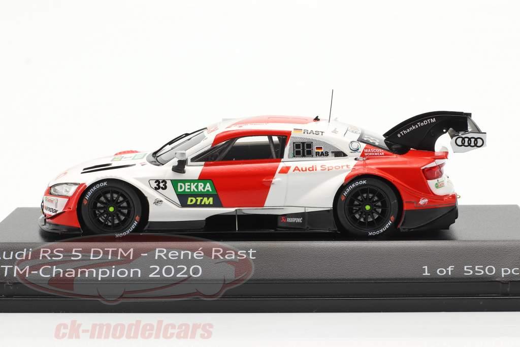 Audi RS 5 Turbo DTM #33 DTM チャンピオン 2020 Rene Rast 1:43 Spark
