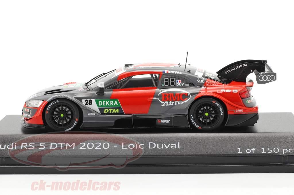 Audi RS 5 Turbo DTM #28 DTM 2020 Loic Duval 1:43 Spark