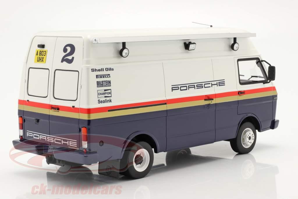 Volkswagen VW LT35 LWB Rallye Assistance Van Rothmans Porsche 1:18 OttOmobile