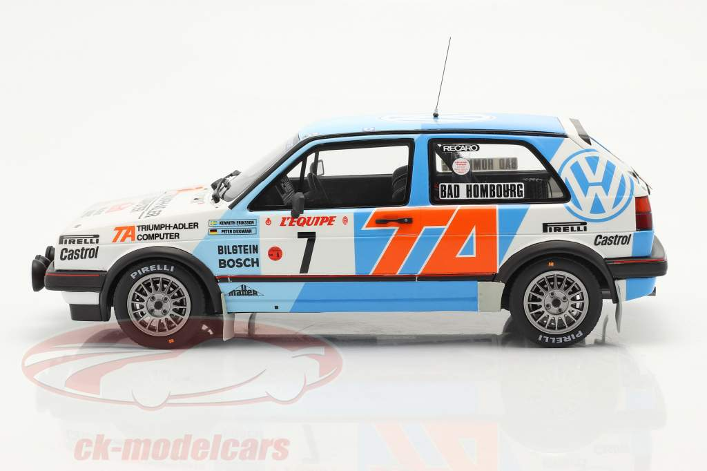 Volkswagen Golf II GTi 16V #7 5e Rallye Monte Carlo 1987 1:18 OttOmobile