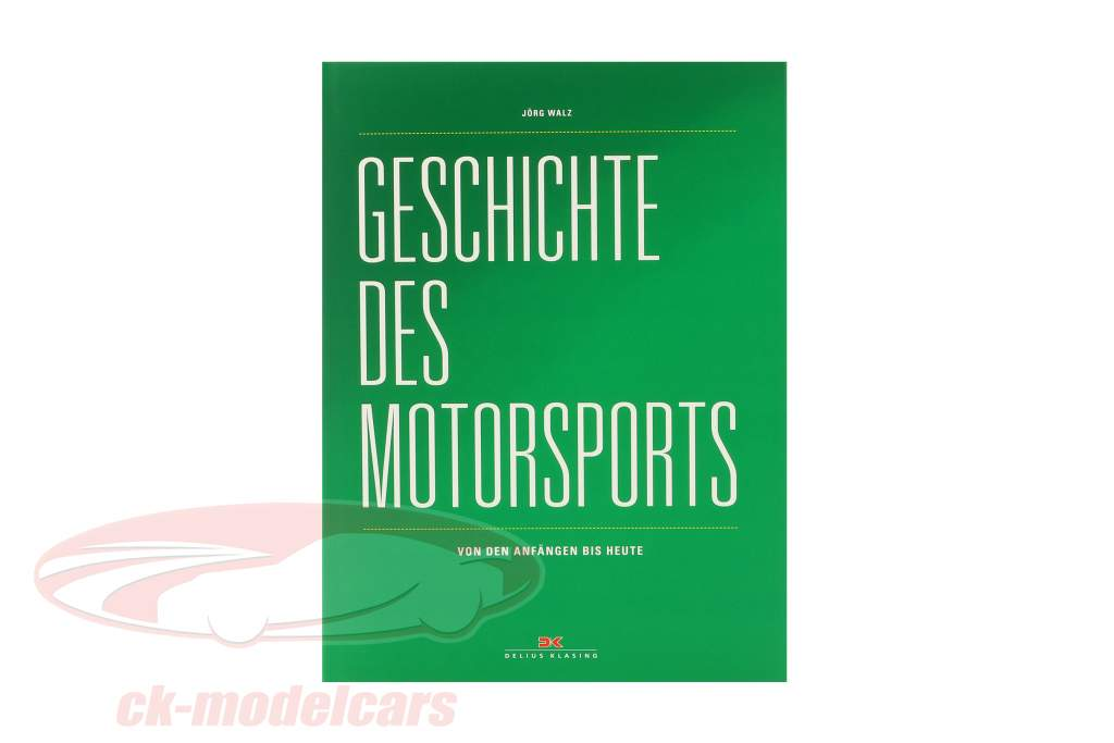Book: History of Motorsport - from the beginning until today