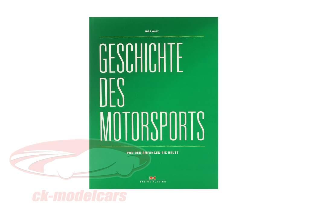 Livre: Histoire de Sport automobile - de le Les débuts à aujourd'hui