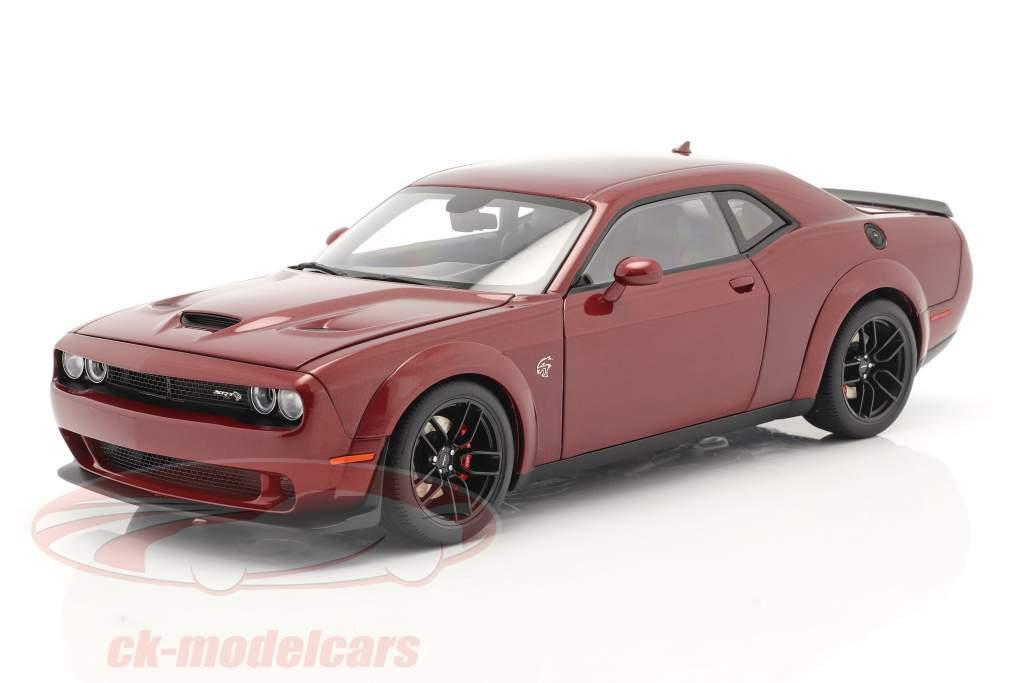 Dodge Challenger SRT Hellcat Année de construction 2018 octane rouge 1:18 AUTOart