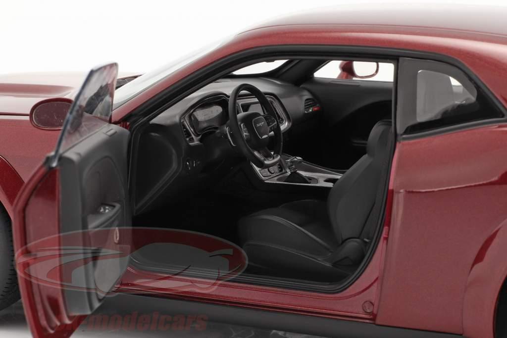 Dodge Challenger SRT Hellcat year 2018 octane red 1:18 AUTOart