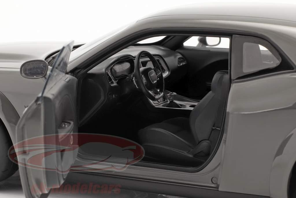 Dodge Challenger SRT Demon year 2018 grey 1:18 AUTOart